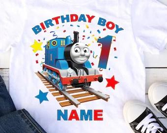 Thomas The Train Birthday Etsy