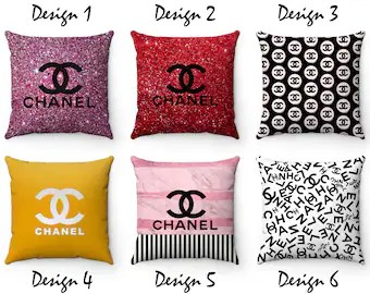 chanel pillow etsy