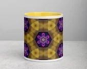 Ceramic Mug with Color Inside
