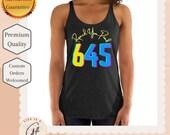 645 Beachbody Reach Your Peak Workout Racerback Tank Top