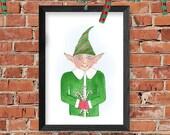 Christmas Wall Art Print ...