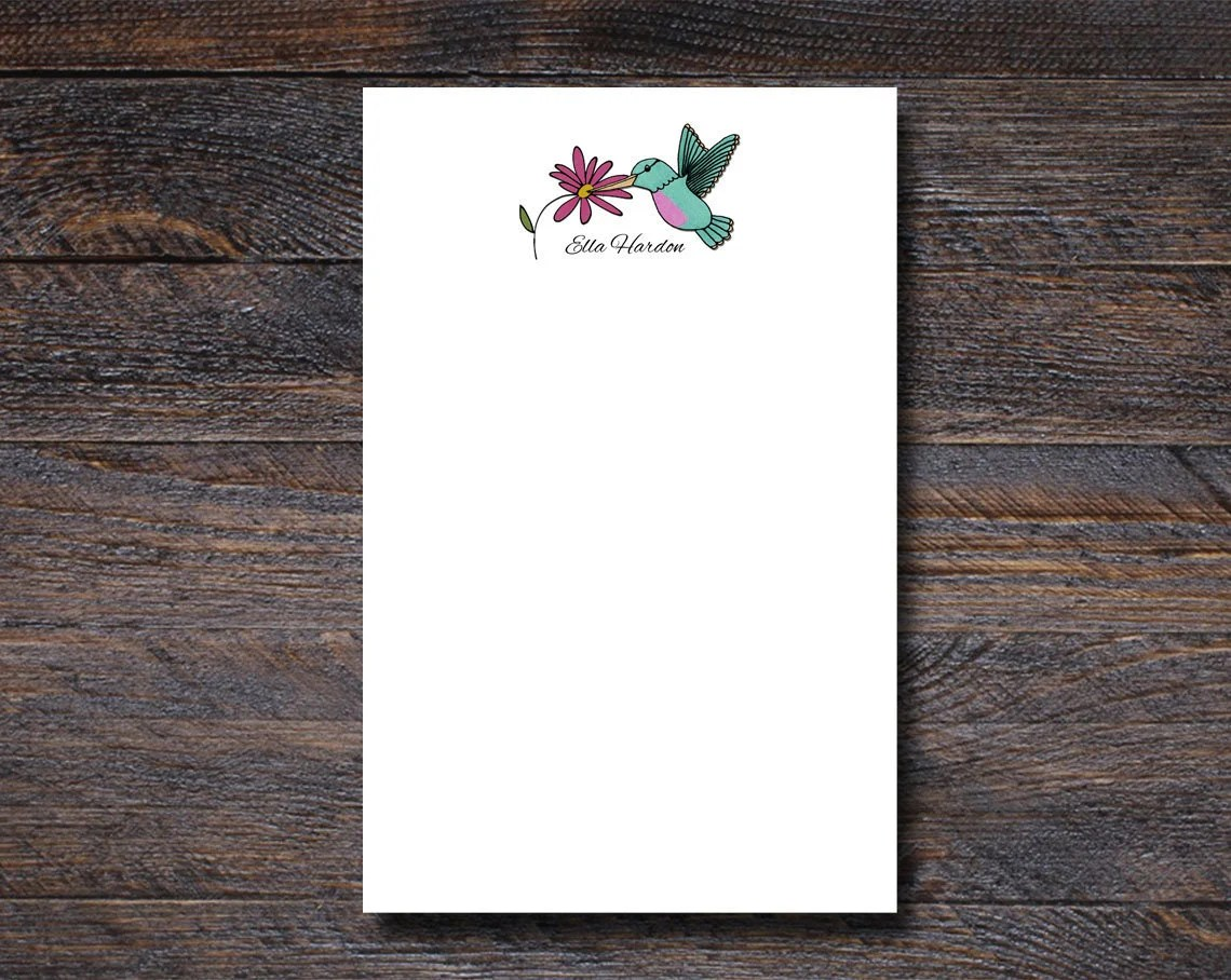 Personalized Notepad | Hu...