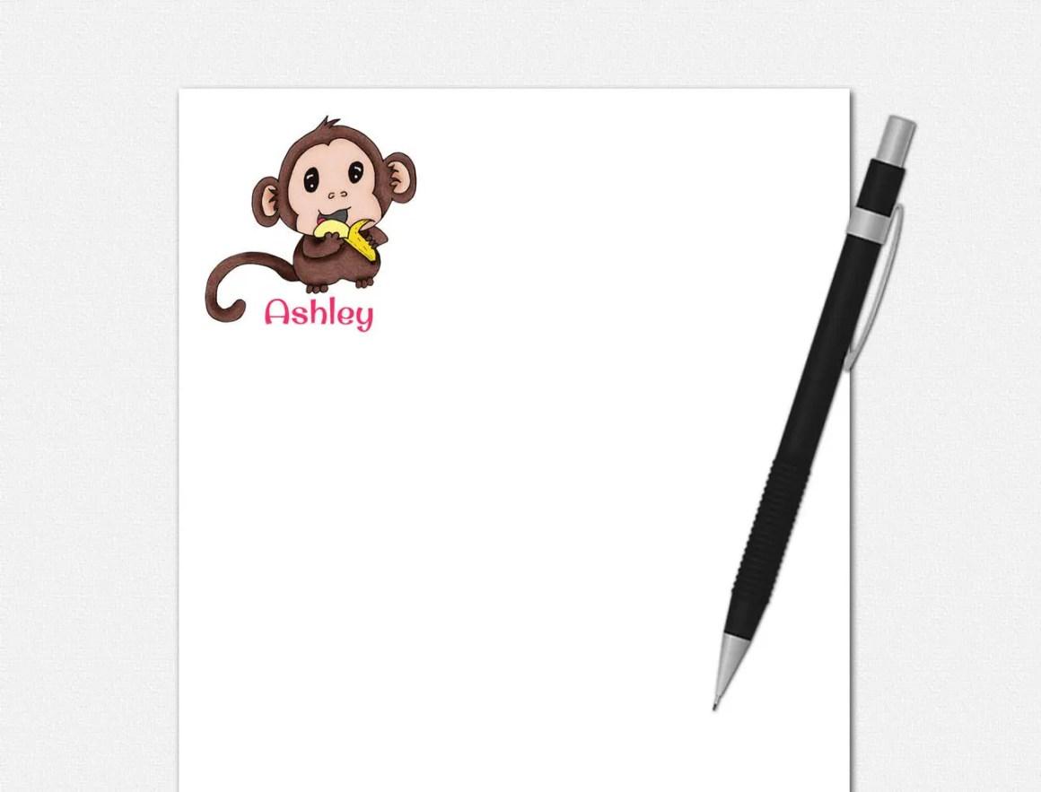 Baby Monkey Notepad - Per...
