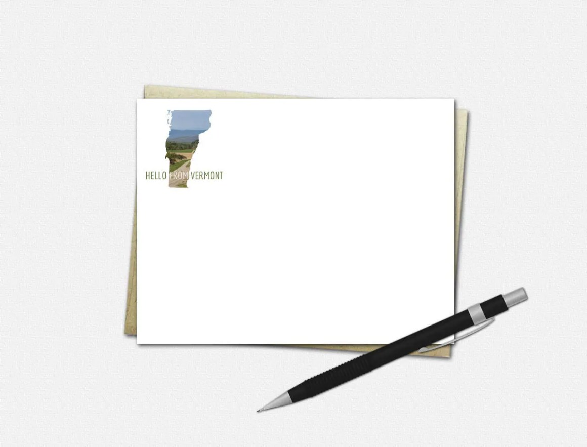 Vermont Note Cards - Verm...