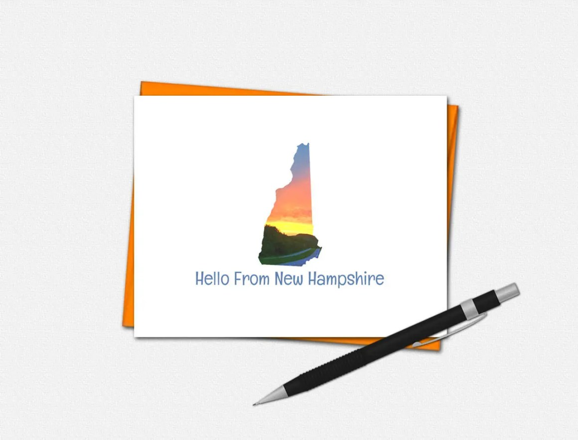 New Hampshire Note Cards ...