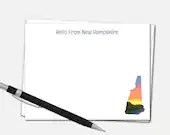 Flat Note Cards | Hello F...