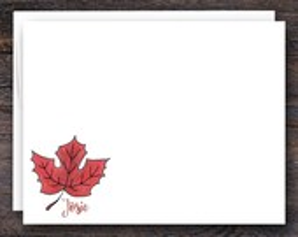 Fall Stationery Gifts   M...