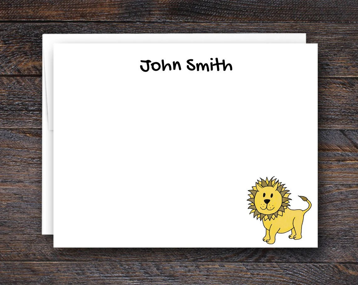 Personalized Stationery C...