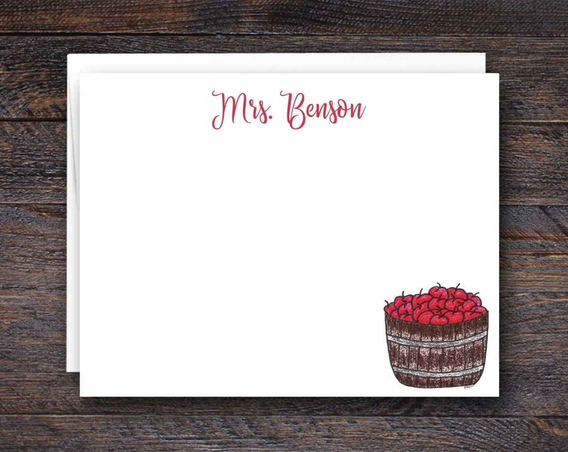 Personalized Flat Note Ca...
