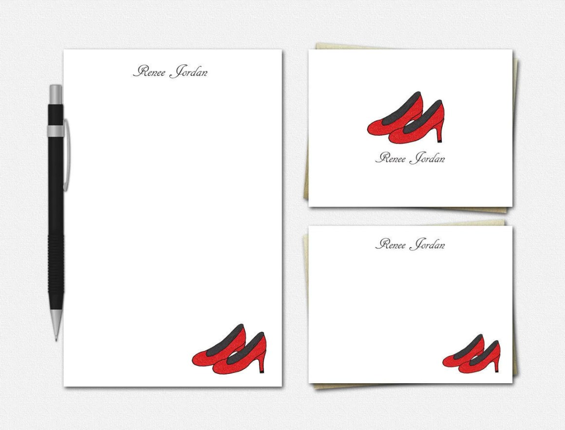 Custom Stationery Set for...