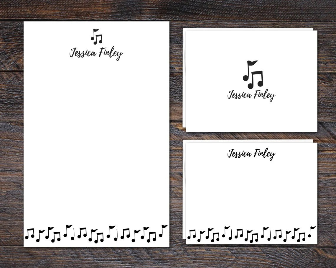 Custom Stationery Set | M...