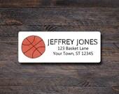 Basketball Address Labels...
