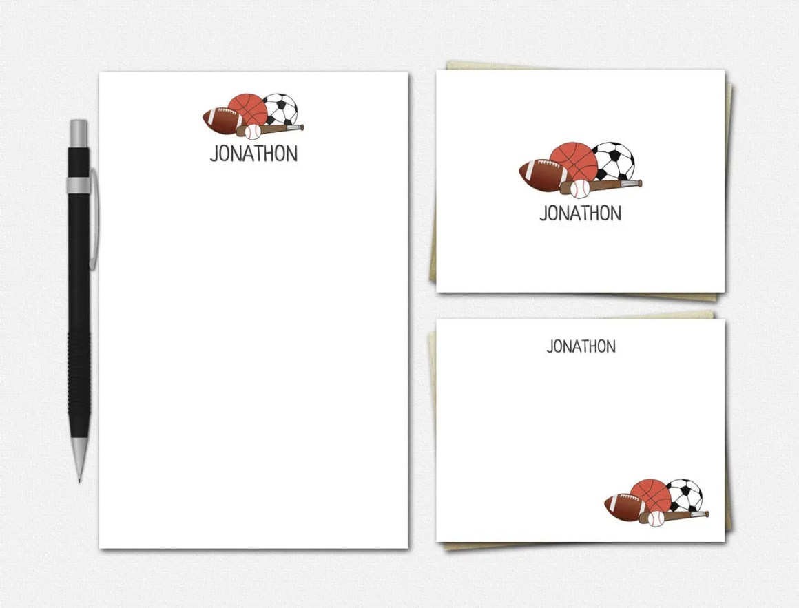 Sports Stationery Set | N...