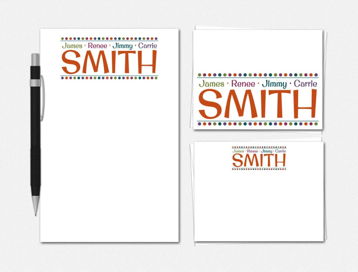 Family Stationery Set | N...