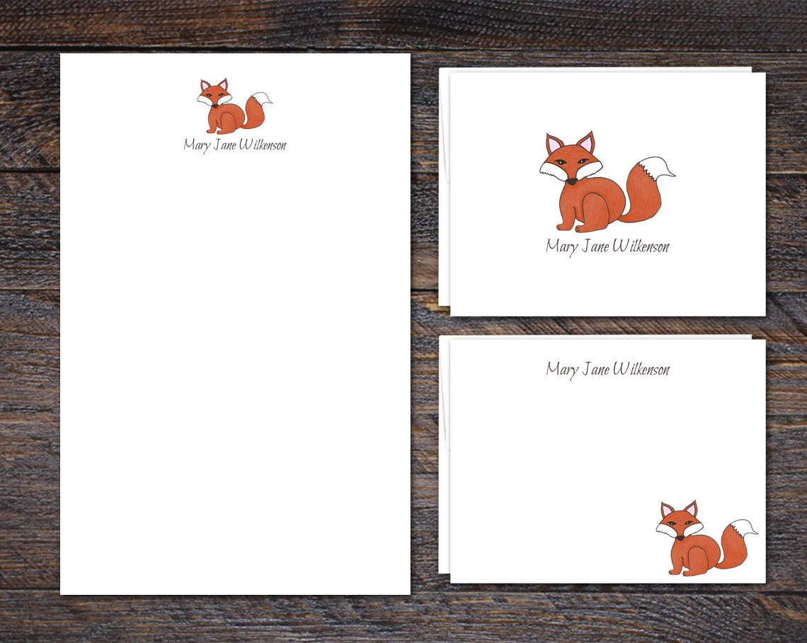 Custom Stationery Set | R...
