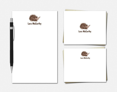 Hedgehog Stationery - Per...