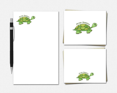 Turtle Stationery Set - T...