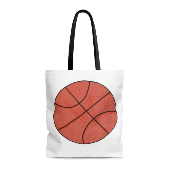 Basketball Tote Bag - Great Gift for Your Coach or Your Favorite Player!