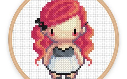 Pixel Art Grid Stitch Hot Trending Now