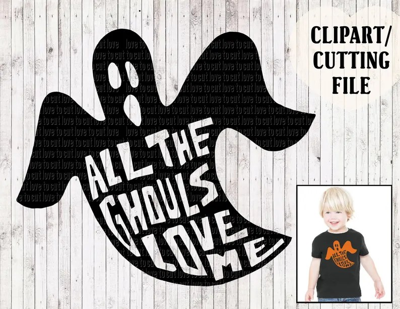 Download All the ghouls love me svg kids halloween svg boy svg kids ...