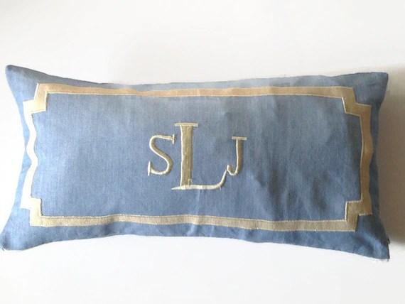 monogram lumbar pillow long nursery decor long lumbar pillow cover personalized long lumbar pillow covers monogram lumbar pillow cover