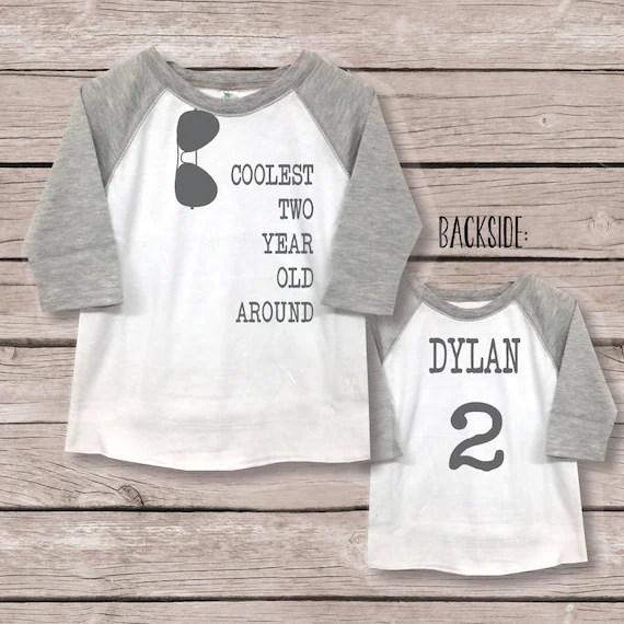 Two Shirt Boy 2nd Birthday