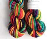 Hand dyed yarn, Super bul...
