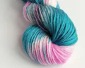 Hand dyed variegated dk y...