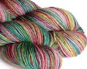 Hand dyed yarn superwash ...