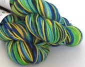 Hand dyed variegated wool...