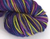 Hand dyed wool yarn. Here...
