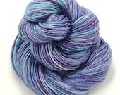 Hand dyed semi-solid yarn...