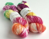 Hand dyed wool yarn, 80/2...