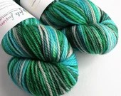 Hand dyed yarn. indie dye...