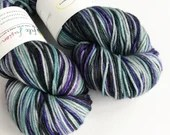 Hand dyed superwash merin...