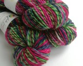 Hand dyed wool yarn, Meri...