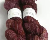 Hand dyed yarn superwash ...
