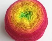 Hand dyed sparkly gradien...