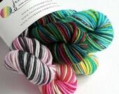 Hand dyed yarn mini skein...
