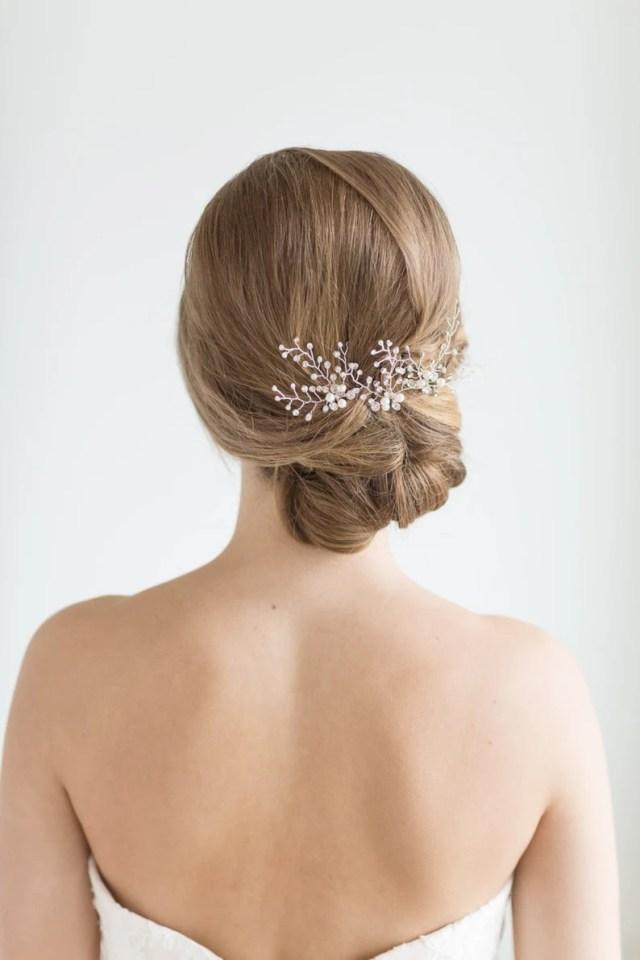 crystal bridal hair pins, wedding hair pins, crystal hair pins