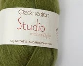 deSTASH, Cleckheaton Studio Mohair 8 ply, destash yarn, discontinued yarn, worsted weight yarn, knitting yarn, mohair, vintage yarn,