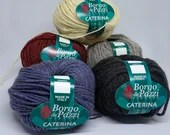 deSTASH Borgo de Pazzi Caterina, worsted weight yarn, wool blend yarn, knitting yarn, crochet yarn, sweater yarn