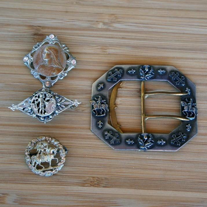 Joan of Arc Antique Jewel...
