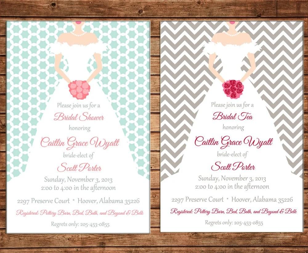 Order Bridal Shower Invitations Online