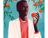 Peach - fine art print