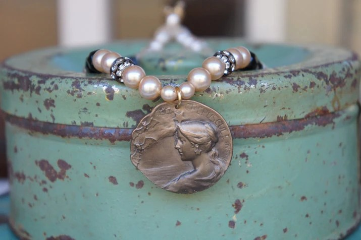 Assemblage Necklace with ...