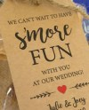 S Mores Party Favor Kits Celebrate Smore Rustic Wedding Etsy