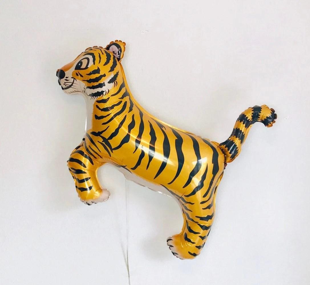 Tiger Balloon Tiger King Theme Tiger Birthday Tiger Party Etsy