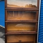Antique Globe Wernicke 6 Stack Oak Barrister Bookcase 12d34w87h Shipping Is Not Free