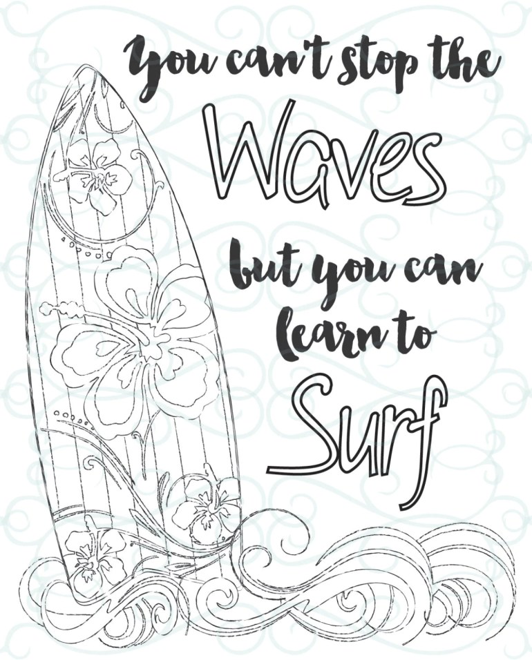 Adult Inspirational Coloring Page printable 03-Learn to ... | free printable inspirational coloring pages for adults